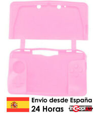 FUNDA SILICONA 3DS (Rosa)