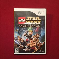 Nintendo Wii LEGO Star Wars The Complete Saga Video Game Rated E