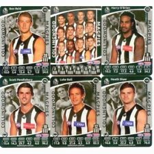 2012 TEAMCOACH SILVER COLLINGWOOD FOOTBALL CARD SET WITH SILVER CHECKLIST