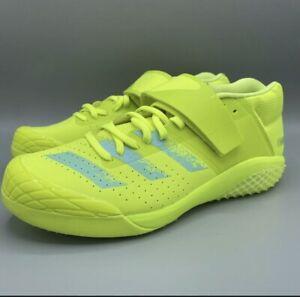 adidas Adizero Javelin Track And Field Spikes Yellow FW2241 Ultra Boost 11 NEW