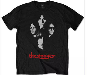 IGGY POP AND THE STOOGES OFFICIAL MERCHANDISE T SHIRT