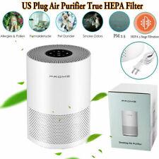 Large Room Air Purifier True Hepa Filter Air Cleaner Odor Allergies Eliminator
