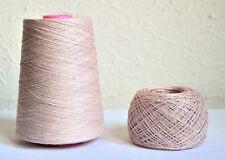100% natural linen yarns, 500g / 1lb1.6oz cone