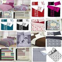 Luxury Print Design Duvet Pillow Quilt Cover Bedding Set Single Double King Size