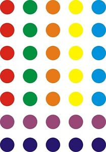 CHILDREN IN NEED COLOURED SPOTS - IRON ON TSHIRT TRANSFERS - A6 A5 A4