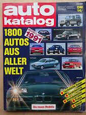 Autokatalog Nr 34, 1991,  1800 Autos aus aller Welt
