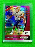 AARON JONES PRIZM CARD JERSEY #29 PACKERS 2020 PANINI PRIZM DRAFT PICKS REFRACT