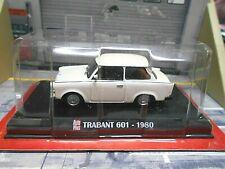 TRABANT Trabbi 601 DDR 1980 weiss white Sonderpreis IXO Altaya SP Autoplus 1:43