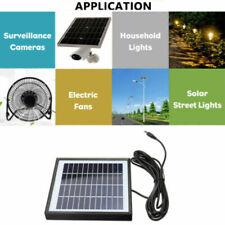 2W 12V Waterproof Garden Solar Power Panel LED Light Lamp Charger Water Pump qwe