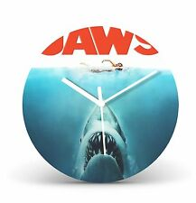 "Jaws 12"" Quartz Wall Clock Record Clock Classic Movie Christmas Gift CL78"