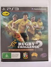 Rugby Challenge 2 - Playstation 3 PS3 - fast free post