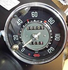 VW Escarabajo Tacómetro con Cuentakilómetros de viaje completo anticuado como
