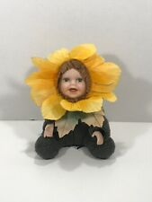 Cuddle Kids Collectibles Sophie Sunflower by Geppeddo 2001 Porcelain Doll