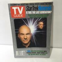 TV Guide Dec 7-13 2002 Star Trek Nemesis Patrick Stewart & Brent Spiner Cover