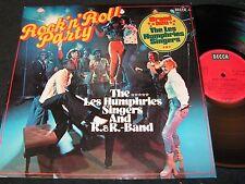 THE LES HUMPHRIES SINGERS Rock'n'Roll Party / German LP 1974 DECCA SLK 17065-P