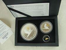 The Australian Kookaburra 1995 Proof Issue Golden Eagle Honor Mark Set with COA