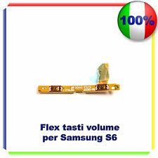 FLAT TASTI LATERALI per SAMSUNG GALAXY S6 G920F VOLUME RICAMBIO FLEX