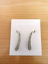 Michael Kors Seasonal Statement Pave Goldtone Drop Earrings MKJ4027710