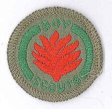 1960's AUSTRALIA / AUSTRALIAN SCOUTS - BOY SCOUT FIREFIGHTER Proficiency Badge