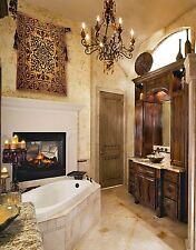 "Carver Tubs TOD 6841 68"" Classic Oval Soaking Bathtub White Acrylic Drop-In tub"