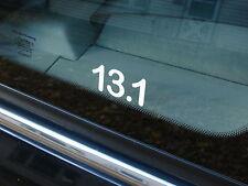 """13.1 Half Marathon Decal Sticker Runner Run *NEW Design 2"""""""
