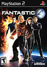 Fantastic 4 PlayStation 2 PS2 Game Only 10M Kids Marvel Four 1