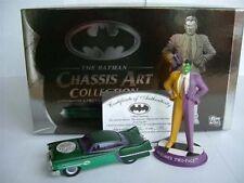 BATMAN BATMOBILE 2 FACE CHASSIS ART 1500 MADE LTD CORGI MODEL CAR DC MINT <**>