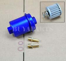 Universal High Performance Racing Fuel Filter 200psi Turbo Charger Na Blue