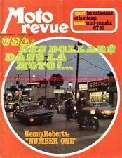 MOTO REVUE 2152 YAMAHA GT 50 Enduro René GUILI AGOSTINI Coupe KAWASAKI 1973