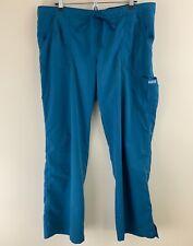 Grey'S Anatomy Women's 4-Pocket Elastic Back Scrub Pants 4245 Size Xl