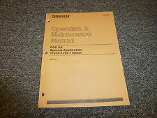 Caterpillar CAT D3C Special Application Tractor Owner Operator Operation Manual