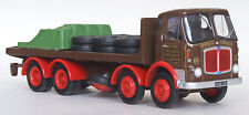 34403 EFE AEC Mark V 4 Axle Flatbed Lorry Spiers Road Services 1:76 Diecast New