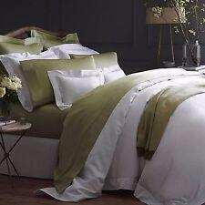 Sferra Giotto Green King Sheet Set Celadon 100% Egyptian Cotton Sateen Italy NEW