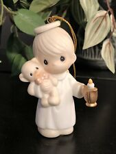 Precious Moments Lighting The Way To A Happy Holiday Ornament 129275