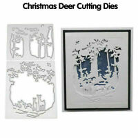 Deer Metal Cutting Die Stencil Scrapbooking DIY Album Paper Card Embossing MA