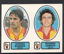 PANINI CALCIATORI FOOTBALL Adesivo 1977-78, N. 444, Lecce-GIORGIO BIASIOLO