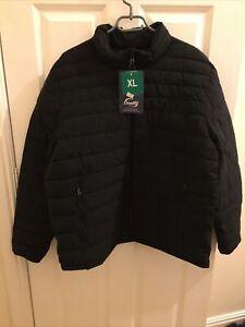 32 Degrees Black Cloud Fill Jacket Size XL