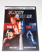 Bloody Murder Teil 1 & 2 DVD, Horrorfilm
