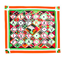 Hermes Pareo Scarf Vive La France by Loic Dubigeon Extra Large