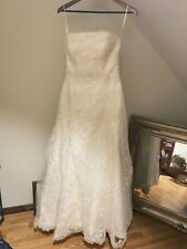 Exquisite Vintage Wedding Dress Imported from Spain
