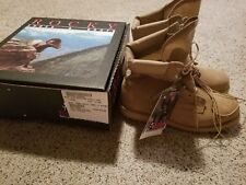 COYOTE TAN ROCKY DESERT HOT WEATHER COMBAT BOOTS U.S. GI ARMY/USMC 14XN