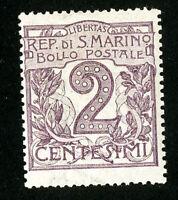 San Marino Stamps # 40 F-VF OG VLH Scott Value $22.50