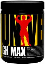 UNIVERSAL Nutrition GH Max 180 Tabs Testosterone Booster Lean Muscle AAKG Vit C