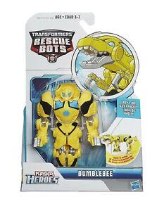 Transformers Rescue Bots Playskool Hero Roar & Rescue Bumblebee Toy Figure New