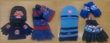 Boys Girls Kids Spiderman Peppa Pig Winter Hat, Gloves And Scarf 2 & 3 Piece Set