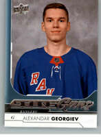 2017-18 Upper Deck Update #514 Alexandar Georgiev Young Guns YG RC Rookie New Yo