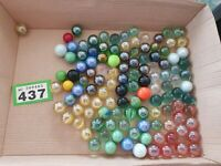 120+ Vintage Mixed Marbles Collectable Job Lot Specials 16mm 600gms