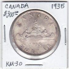 Token - Canada - Silver Dollar - 1935 - KM-30 - CH BU