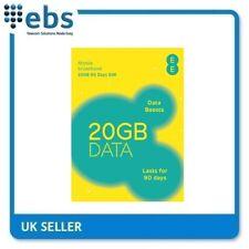 EE Triple SIM Card Preloaded With 6 GB of 4GEE Data (300011785)