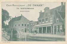 MONNIKENDAM - Café Restaurant De Zwaan – Netherlands